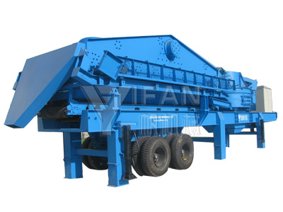 Mobile Screening Plant