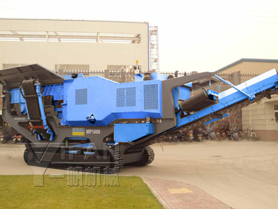 Traked Jaw Crusher
