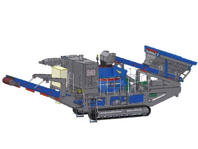 Tracked VSI Crusher